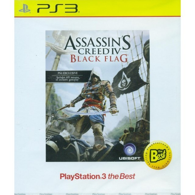 Assassin's Creed IV: Black Flag (Playstation 3 the Best) (English)