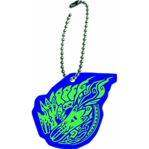 Capcom Monster Hunter 3G Reflect Key Chain: Bracchidios Crest
