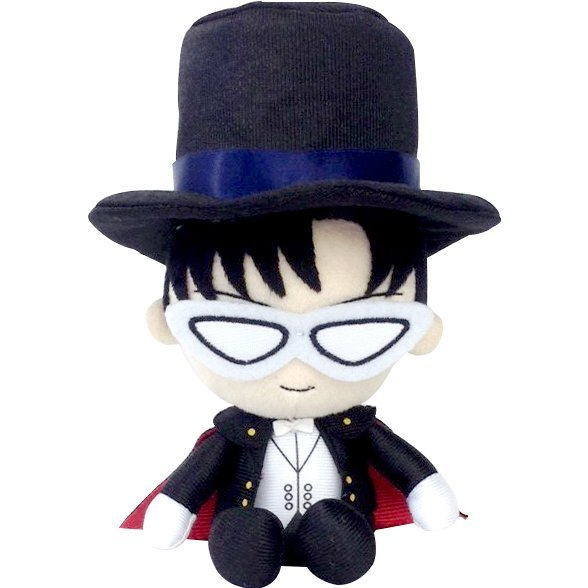 Sailor Moon Mini Plush Cushion: Tuxedo Mask
