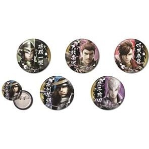 Sengoku Basara 4 Can Badge (Set of 5 Pieces)