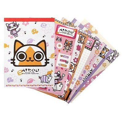 Airou Notepad: Flower