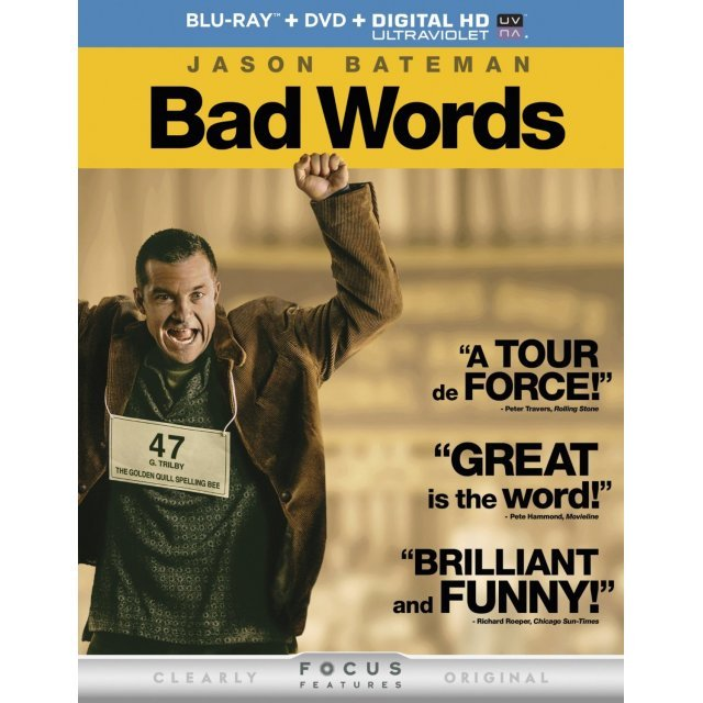 Bad Words [Blu-ray+DVD+Digital Copy+UltraViolet]