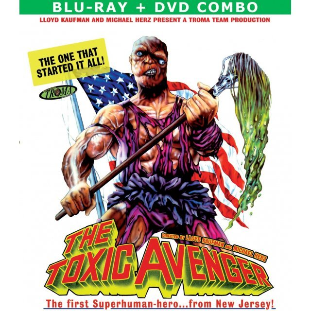 The Toxic Avenger [Blu-ray+DVD]