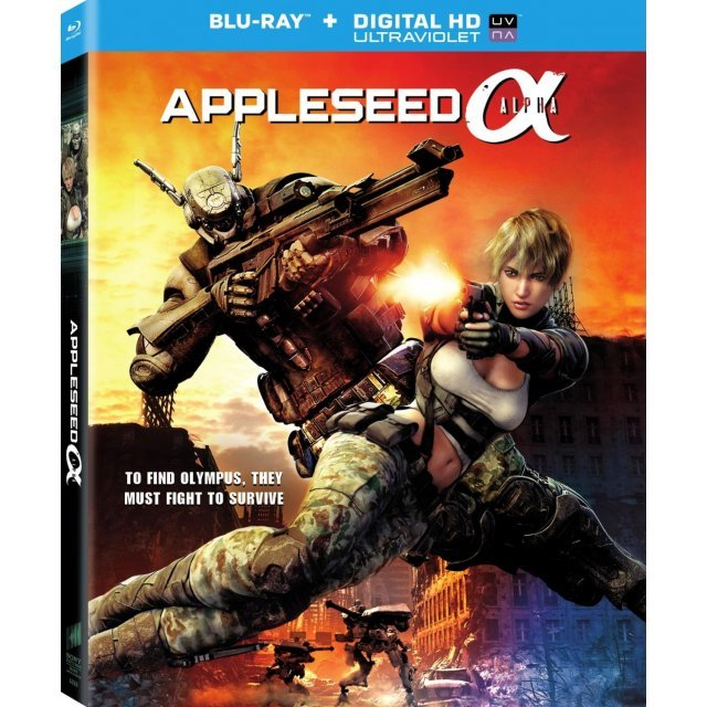 Appleseed Alpha [Blu-ray+Digital Copy+UltraViolet]