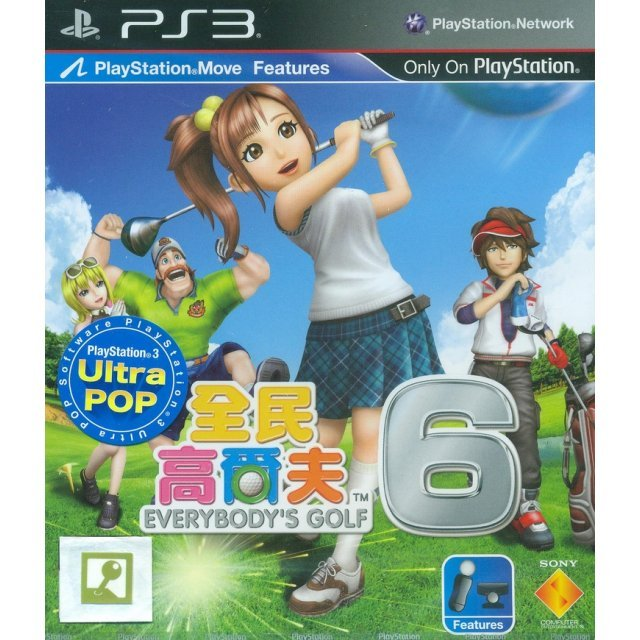Minna no Golf 6 [Ultra Pop] (Chinese & English Sub)
