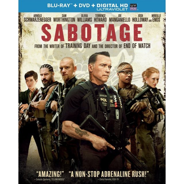 Sabotage [Blu-ray+DVD+Digital Copy+UltraViolet]