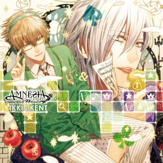 Amnesia World Character Cd Ikki & Kento
