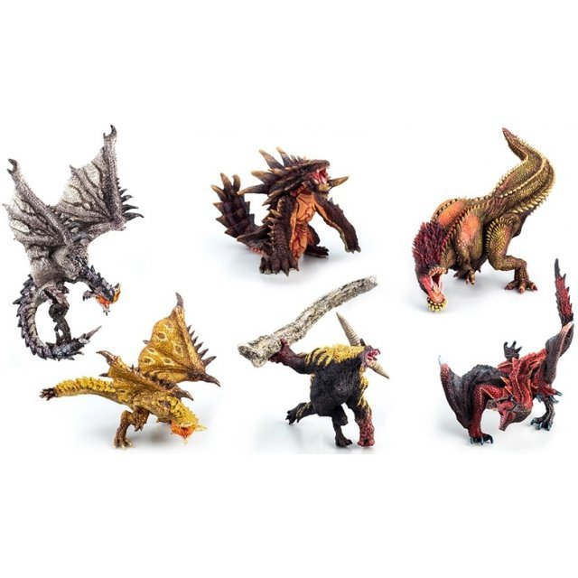 Capcom Figure Builder Monster Hunter: Standard Model Plus Anger Ver. (Set of 6 pieces) (Re-run)