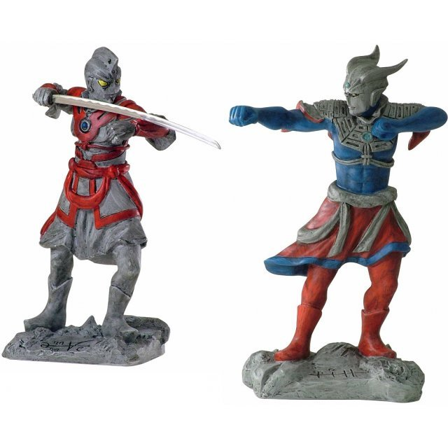 Ultra Twelve Heavenly Generals: Ultraman A & Ultraman Zero (Set of 2)