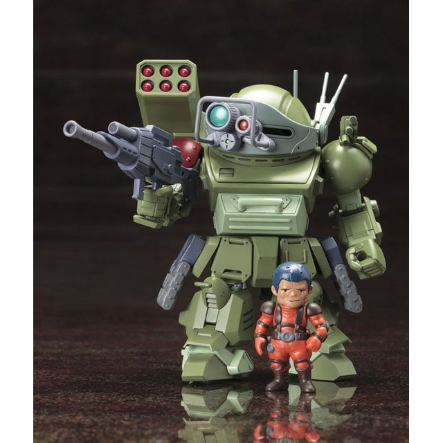 D-Style Votoms: Scope Dog Turbo Custom Sunsa Battle Gregore & Byman & Murza