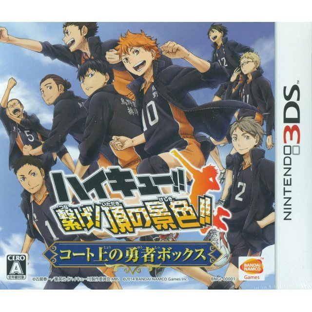 Haikyu!! Tsunage! Itadaki no Keshiki!! [Limited Edition]
