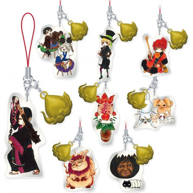 Hozuki no Reitetsu Metal Strap Vol. 3 (Set of 8 pieces)