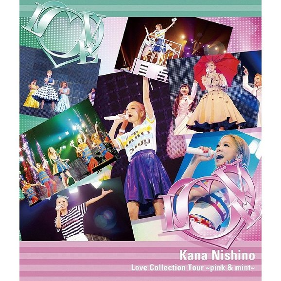 Love Collection Tour - Pink & Mint