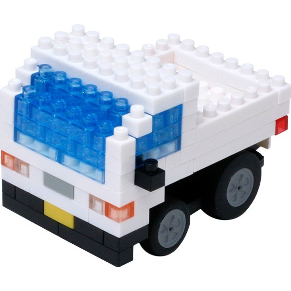 Nanoblock Motion Choro Q: Light Truck