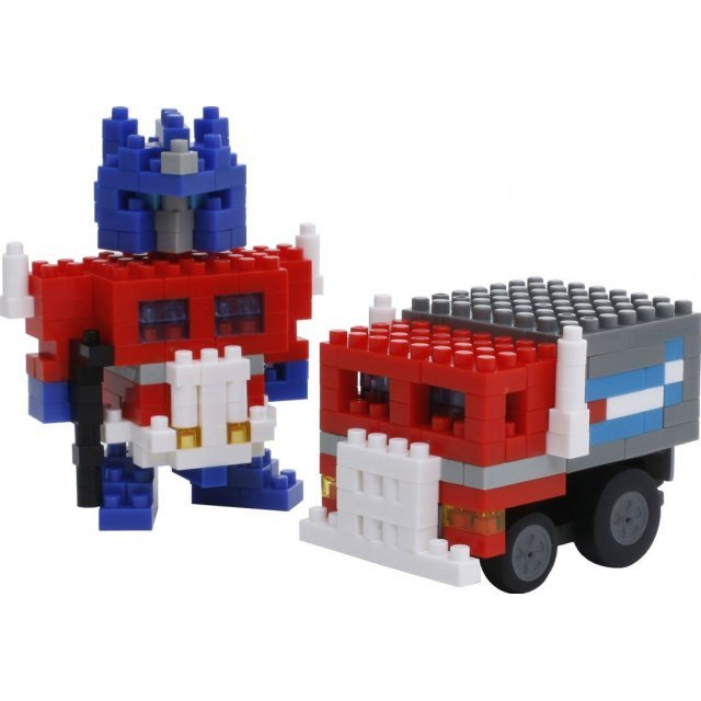 Nanoblock Motion Choro Q Transformers: Optimus