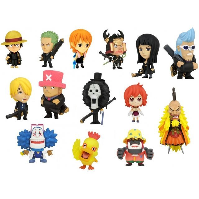 Anime Chara Heroes One Piece Strong World Trading Figure (Random Single)