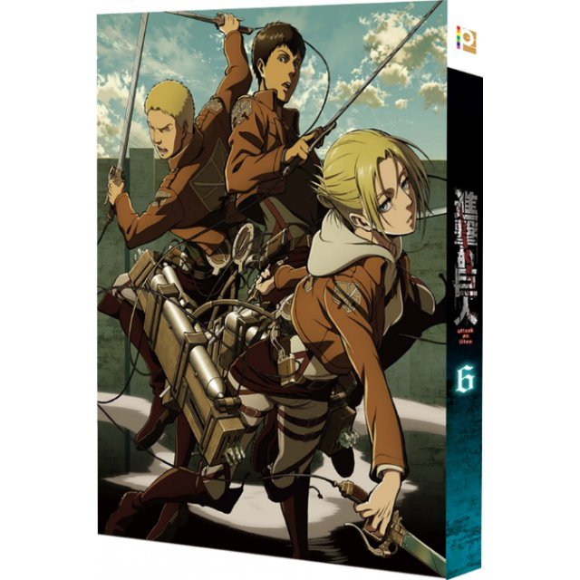 Attack on Titan 6 [Limited Edition]