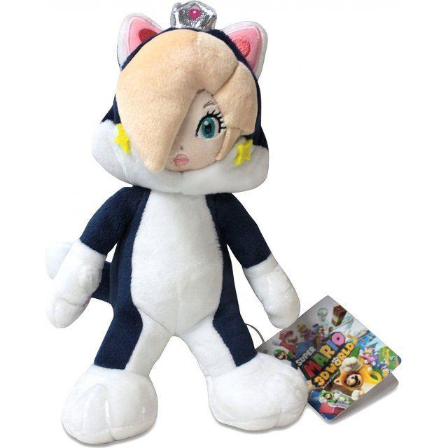 Super Mario Plush Doll Cat Princess Rosalina Small