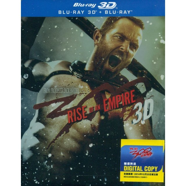 300: Rise Of An Empire [2D+3D Steelbook Edition]