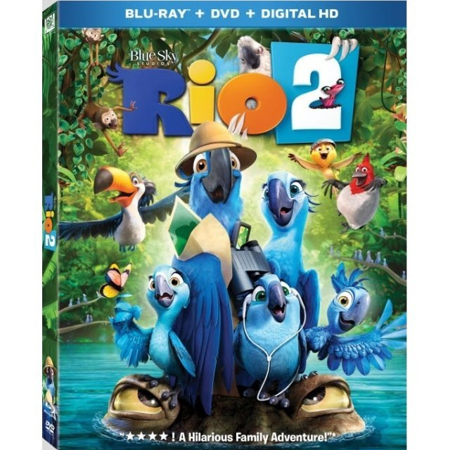 Rio 2 [Blu-ray+DVD+UltraViolet+Digital HD]