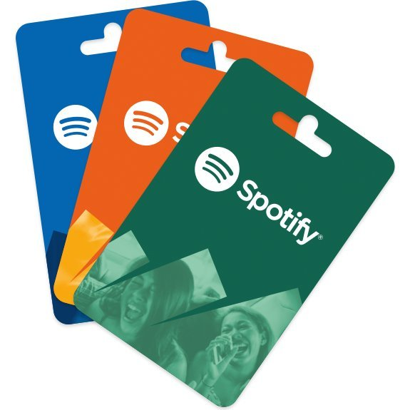 Spotify Gift Card (HKD$144 / for HK accounts only)