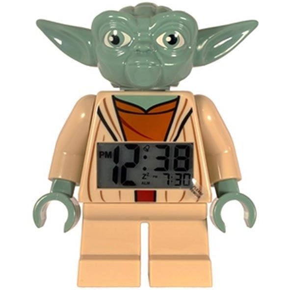Lego Star Wars Mini Figure Alarm Clock: Yoda