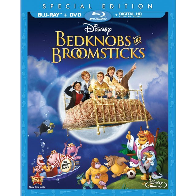 Bedknobs & Broomsticks (Special Edition) [Blu-ray+DVD+Digital Copy]