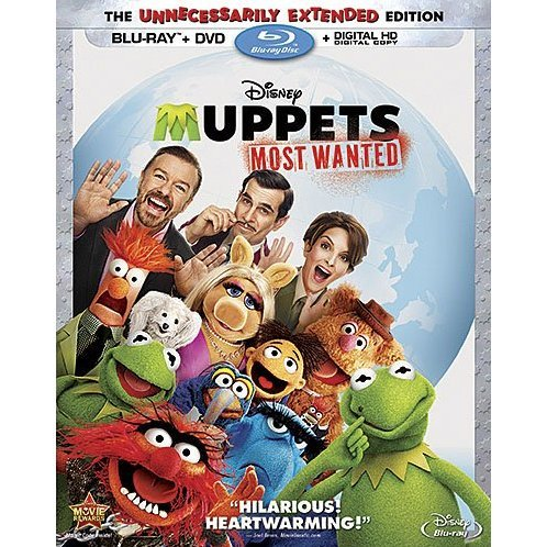 Muppets Most Wanted [Blu-ray+DVD+Digital Copy]