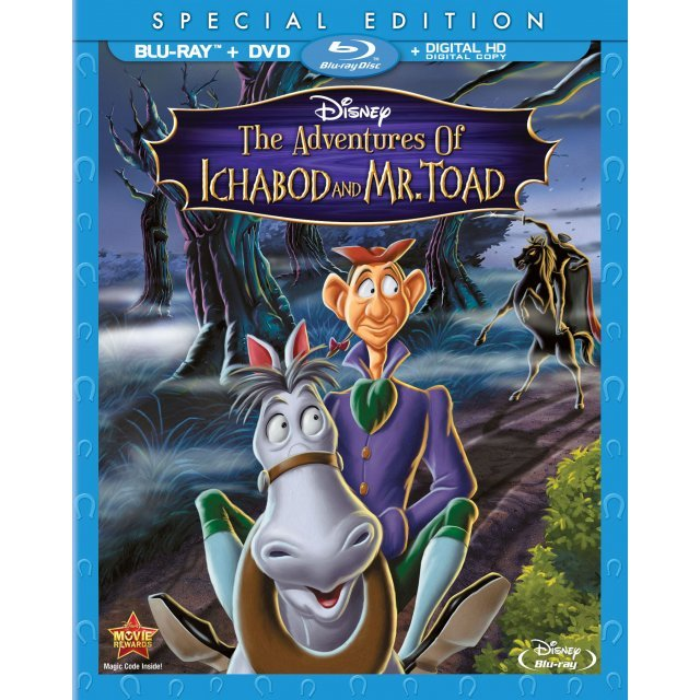 The Adventures of Ichabod and Mr. Toad [Blu-ray+DVD+Digital Copy]