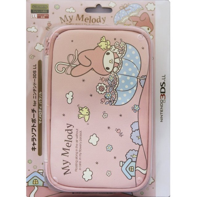 3DS LL Character Soft Pouch (My Melody Parasol)