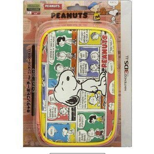3DS LL Character Soft Pouch (Peanuts Comic)