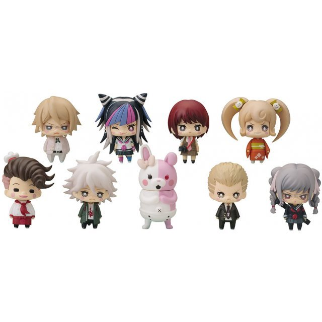 One Coin Mini Figure Collection: Super Dangan Ronpa 2 Chapter 02 (Set of 9 pieces) (Re-run)