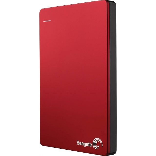 Seagate Backup Plus Slim 2TB, USB 3.0 (Red)