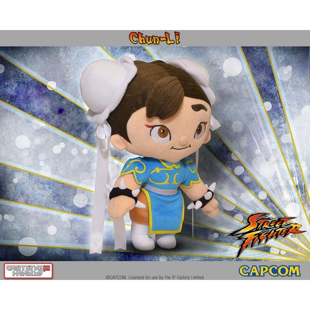 Street Fighter Plush: Chun-Li