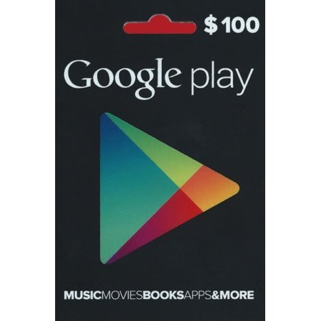 Google Play Card (US$100 / for US accounts only)