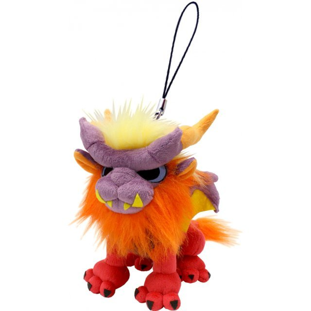 Monster Hunter Monster Mini Mascot Plush: Teostra