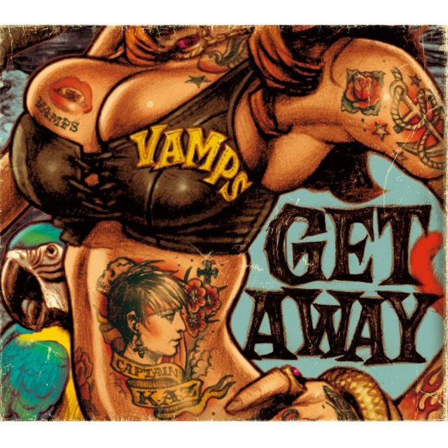 Get Away / The Jolly Roger [CD+DVD Limited Edition Type A]