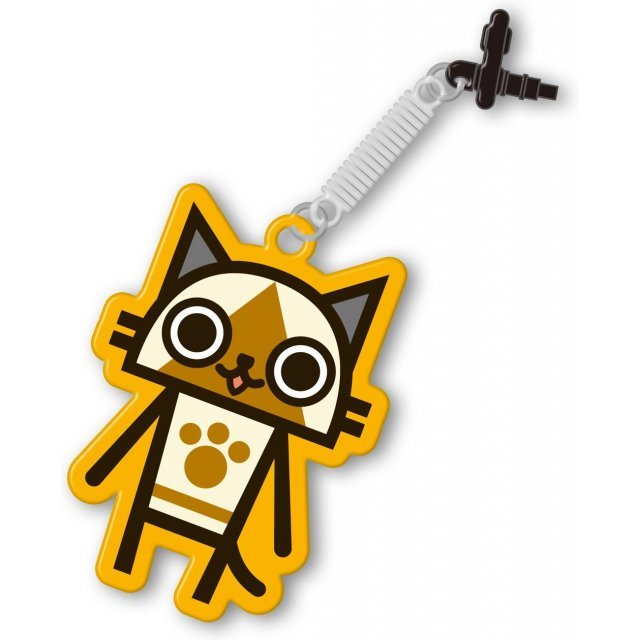 Monster Hunter 4G Pin Jack Mascot Cleaner (Airou)