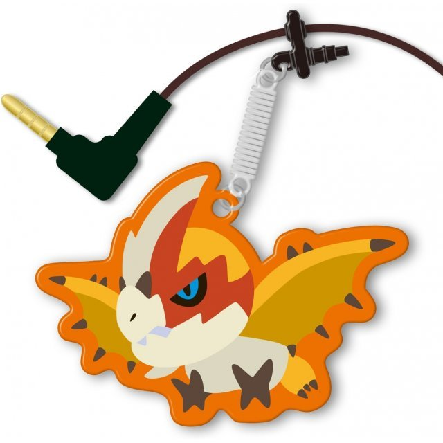 Monster Hunter 4G Pin Jack Mascot Cleaner (Main Monster)