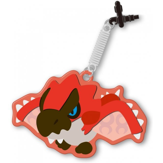 Monster Hunter 4G Pin Jack Mascot Cleaner (Rathalos)