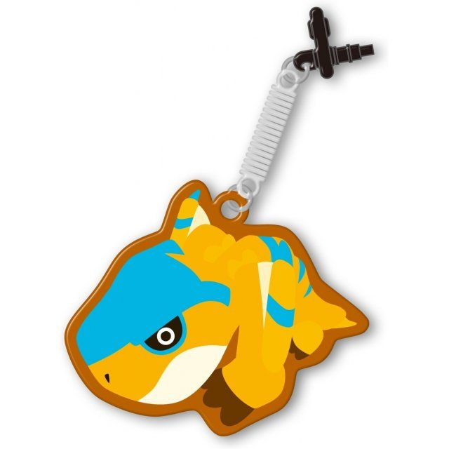 Monster Hunter 4G Pin Jack Mascot Cleaner (Tigrex)