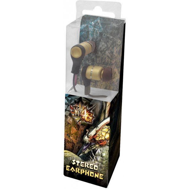 Capcom Monster Hunter 4G Stereo Earphone