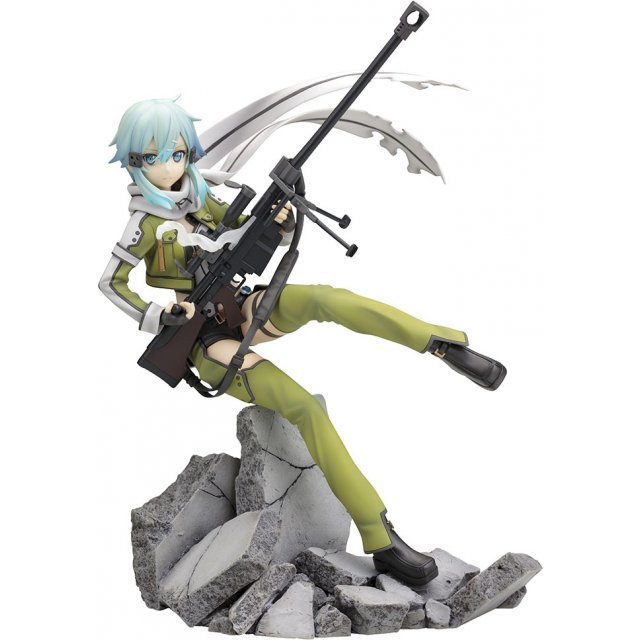 Sword Art Online II 1/8 Scale Pre-Painted Figure: Sinon -Phantom Bullet- (Re-run)