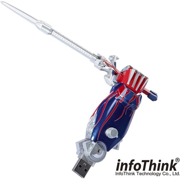 InfoThink Transformers 4 Optimus Prime USB Flash Drive (Hand) 8GB