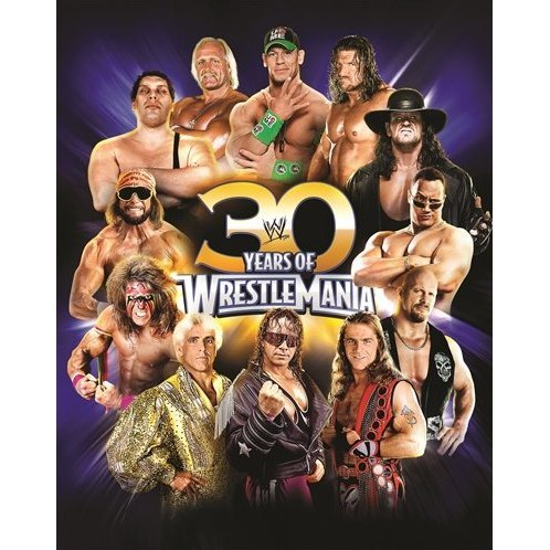 30 Years of WrestleMania (Hardcover)
