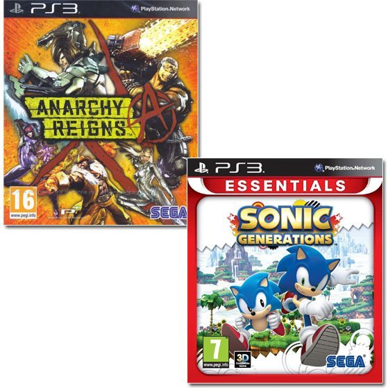 Anarchy Reigns / Sonic Generations Bundle