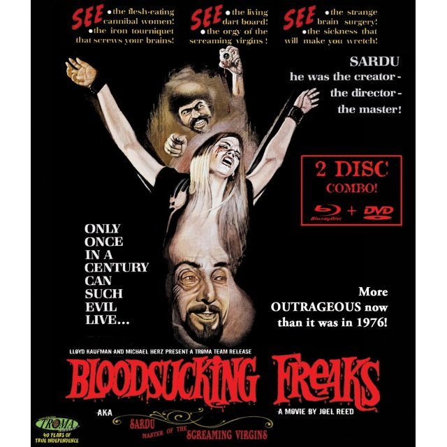 Bloodsucking Freaks [Blu-ray+DVD]