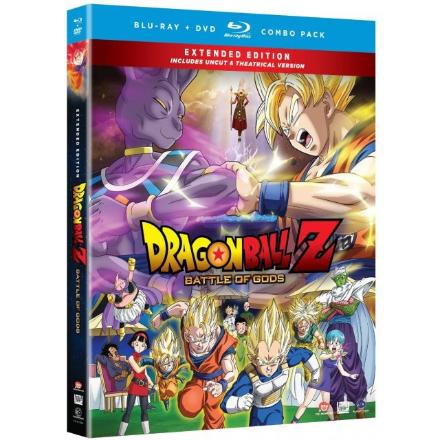 Dragon Ball Z: Battle of Gods (Extended Edition) [Blu-ray + DVD]
