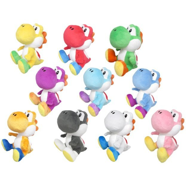 Super Mario Plush: Yoshi (Small) (Set of 10 pieces)