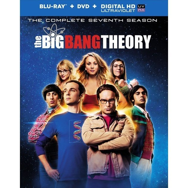 The Big Bang Theory: The Complete Seventh Season [Blu-ray+DVD+UltraViolet]